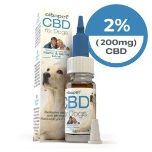 Cibapet 2 % - Huile CBD pour chien