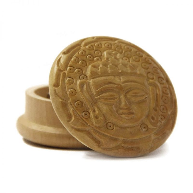Grinder bois Bouddha